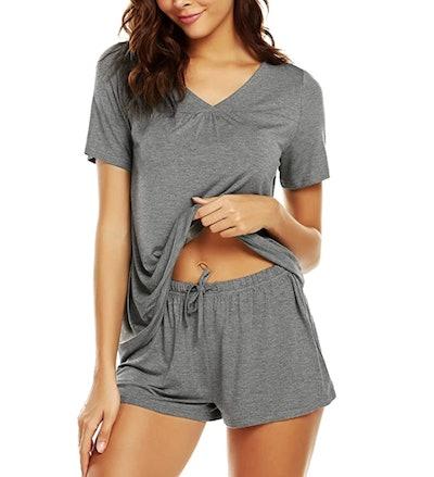 Avidlove Short Sleeve & Shorts Pajama Set