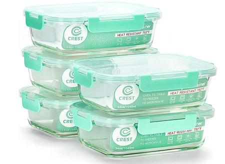 C Crest Collapsible Meal Prep Containers (5-Pack)