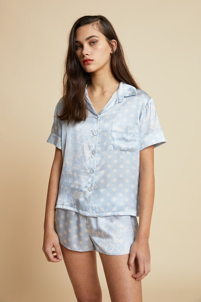 Spliced Ivy Boxer Pajama Set
