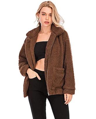 Comeon Store Fuzzy Jacket