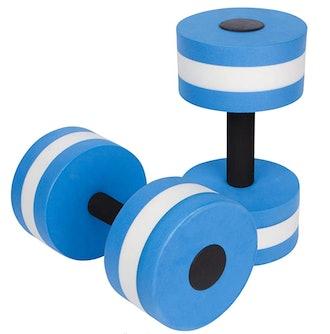Trademark Innovations Aquatic Exercise Dumbells (Set of 2)