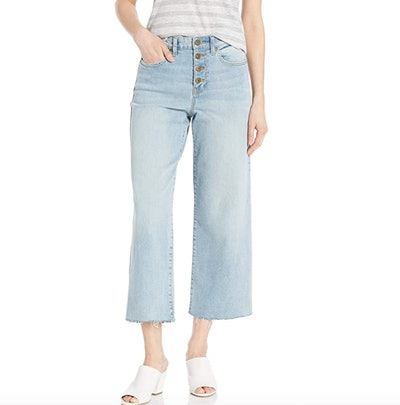 Daily Ritual Wide-Leg Crop Jean