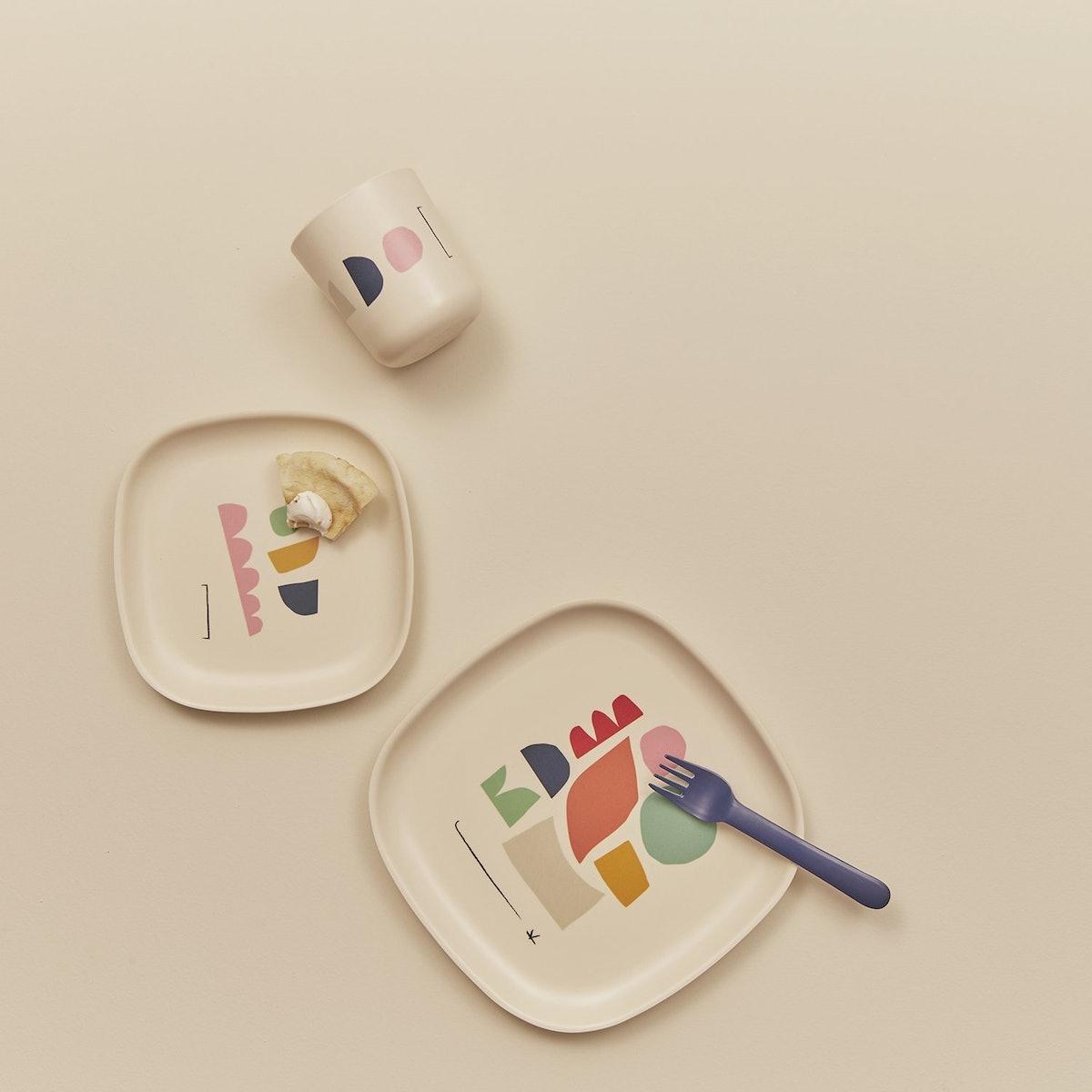 Ekobo Gusto Side Plate Set Colour Series