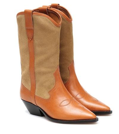 Dandrea leather cowboy boots