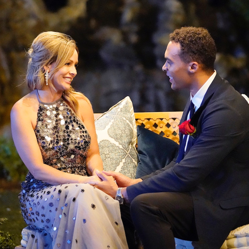 """Dale Moss and Clare Crawley on """"The Bachelorette"""""""