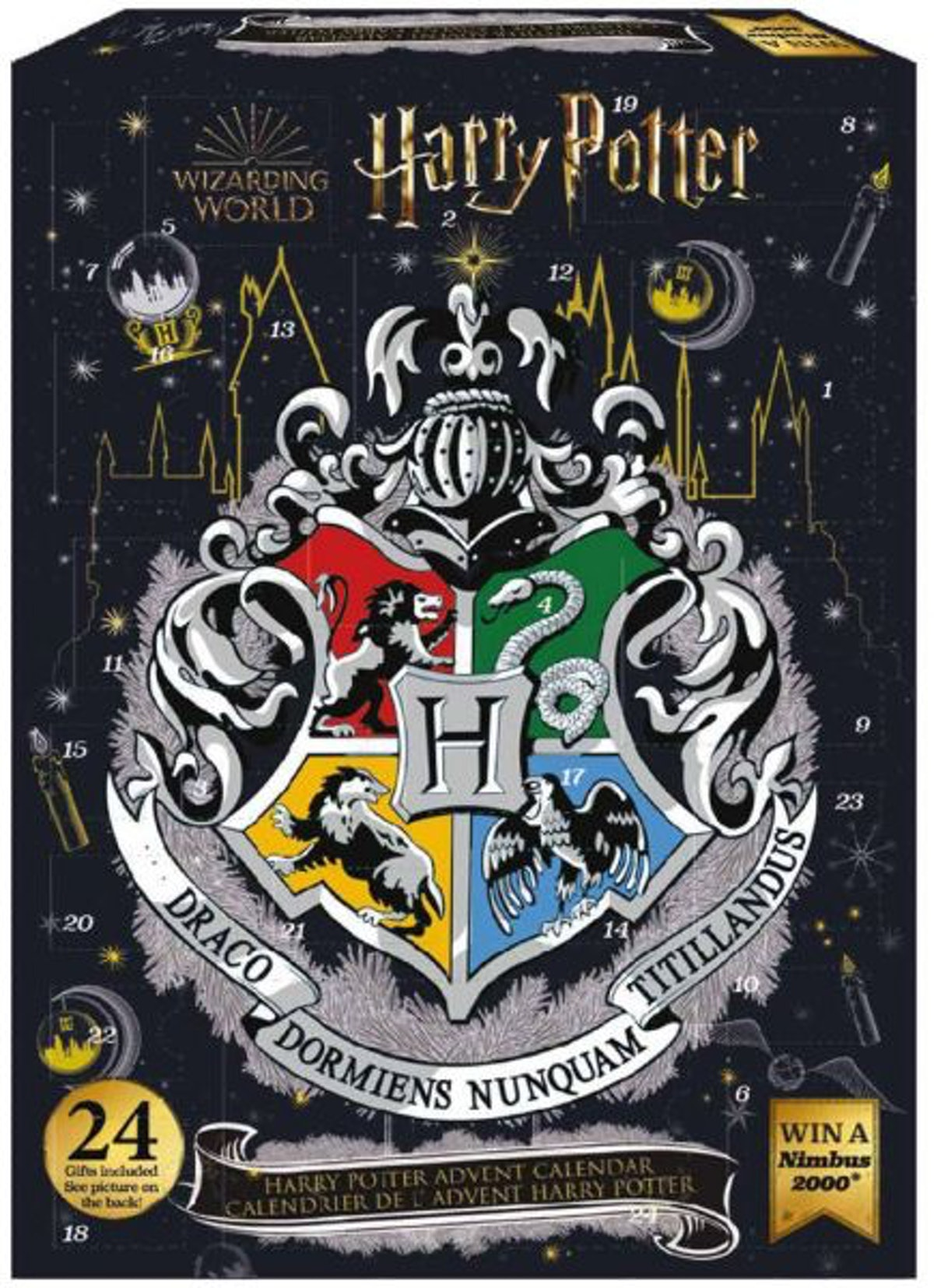Harry Potter: Christmas In The Wizarding World 2020 Advent Calendar Preorder