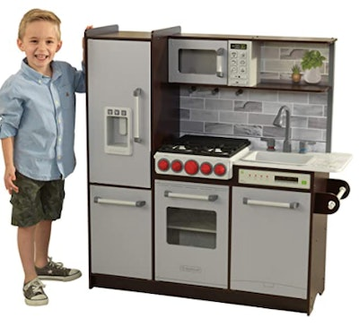KidKraft Ultimate Elite Play Kitchen with Ez Kraft Assembly
