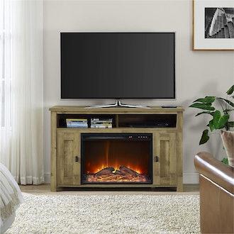 Ameriwood Home Farmington Electric Fireplace TV Console