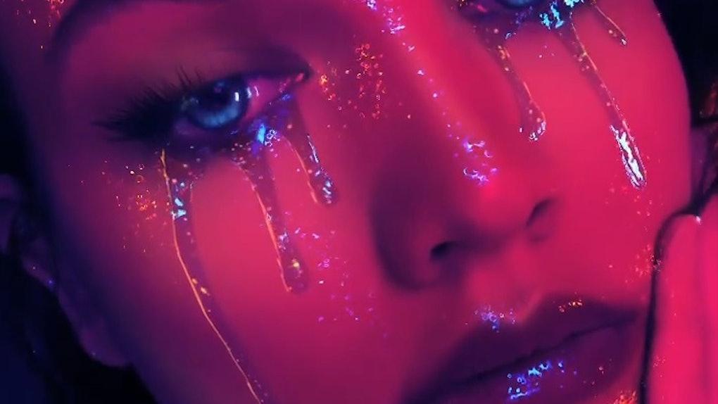 Instagram's Halloween filters include a glitter look that looks like Zendaya in 'Euphoria.'