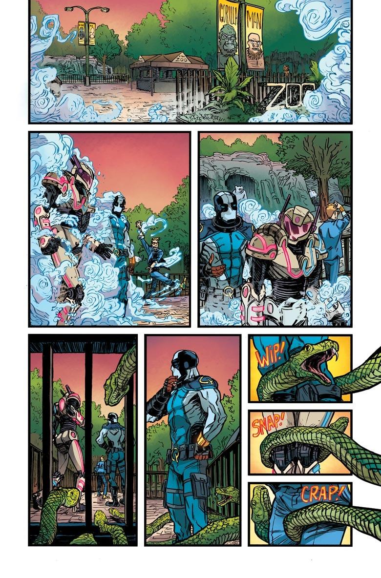 Valiant Comics Quantum and Woody
