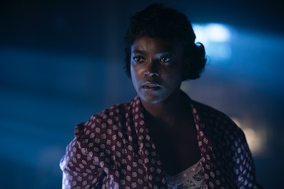 Wunmi Mosaku as Ruby in the Lovecraft Country finale.