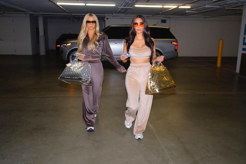 Kim Kardashian & Paris Hilton, Skims Velour