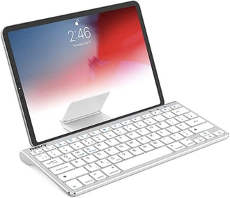 Nulaxy Bluetooth Keyboard with Sliding Stand