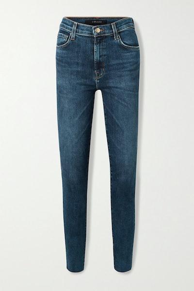 J Brand Leenah High-Wise Skinny Jeans