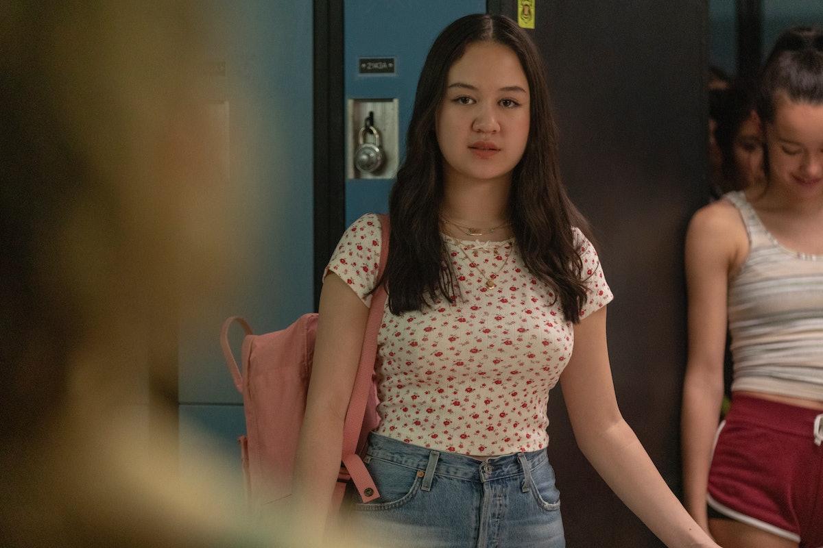 Amalia Yoo as Leila in 'Grand Army' Season 1