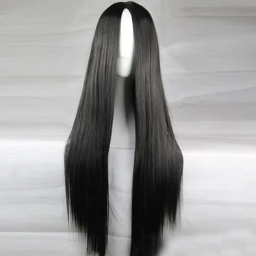 Light in the Box Cosplay Costume Wig Synthetic Wig Straight Kardashian Straight Middle Part Wig Long...