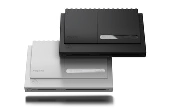 Analogue Duo consoles gray and black