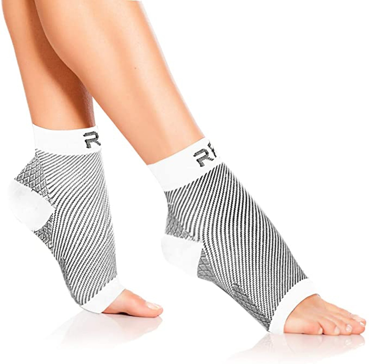 Run Forever Sports Foot Compression Sleeves