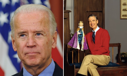 A Trump staffer compared Joe Biden to Mr. Rogers and the internet is leaning in.