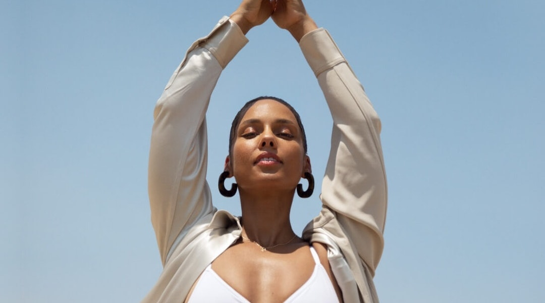 Alicia Keys is celebrating the launch of her skincare brand with a celebrity-studded Keys Soulcare Lounge event this month