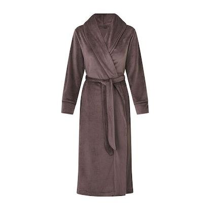 Velour Long Robe