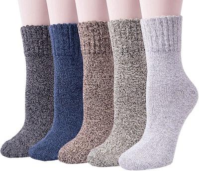 Senker Warm Wool Socks (5-Pack)