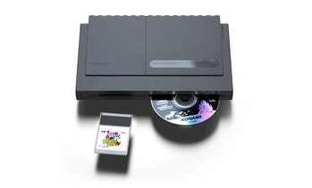 Analogue Duo with CD and game cartridge