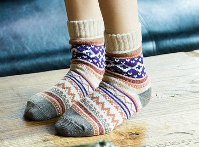 Yoicy Women's Super Thick Wool Socks (5-Pack)