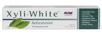 NOW Solutions Xyliwhite Toothpaste Gel, 6.4 Oz.
