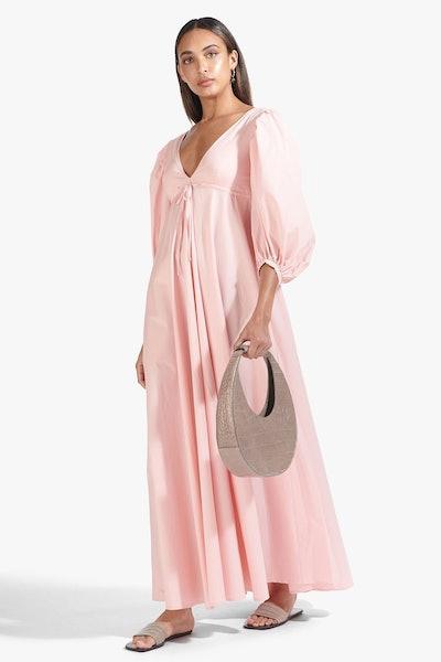 AMARETTI DRESS   STRAWBERRY CREAM