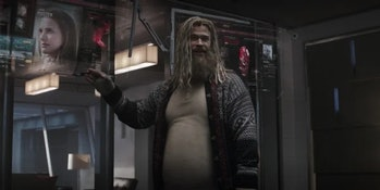 thor love and thunder gif