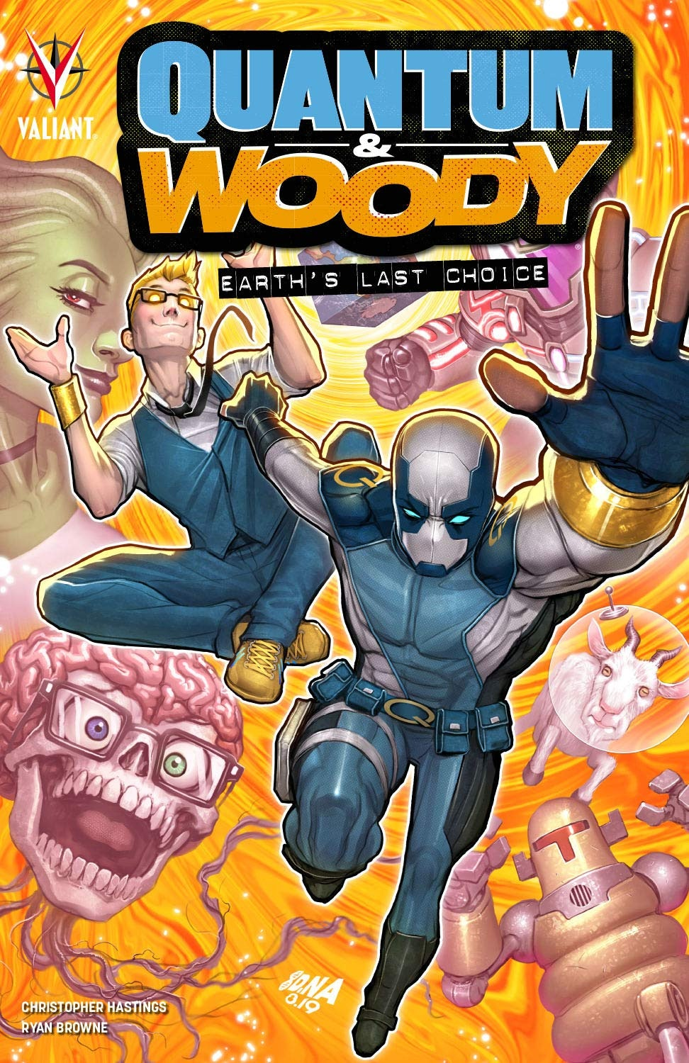 Quantum and Woody 2020 Trade Paperback