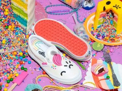 Vans X FLOUR SHOP Kids Classic Slip-On