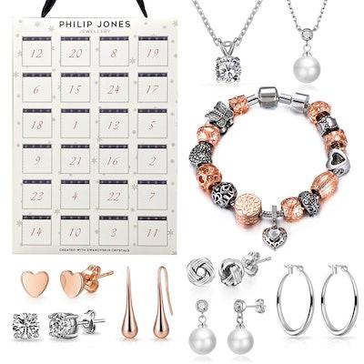 Jewellery Advent Calendar Created with Swarovski® Crystals
