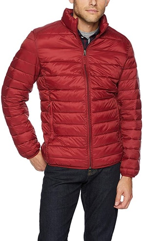 Amazon Essentials Men's Water-Resistant Puffer Jacket