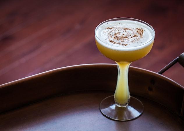 Autumn Sour cocktail