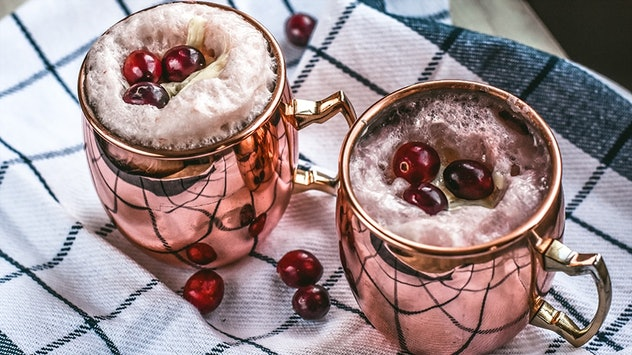 Creepy Cranberry moscow mule