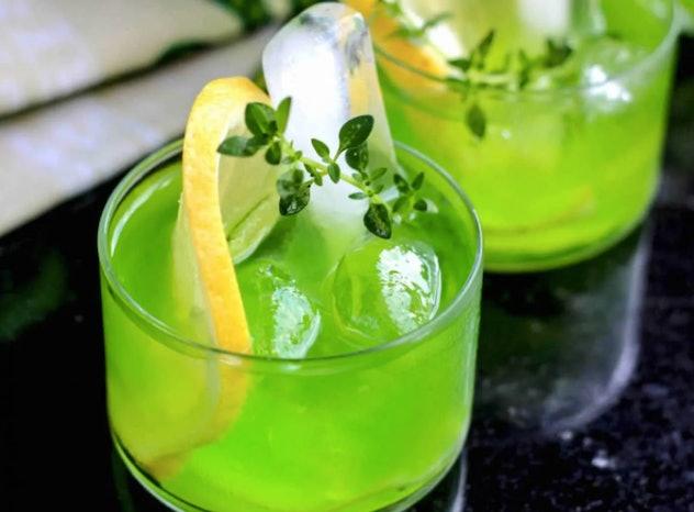 Ghostbusters Ectoplasm Vodka Cocktails