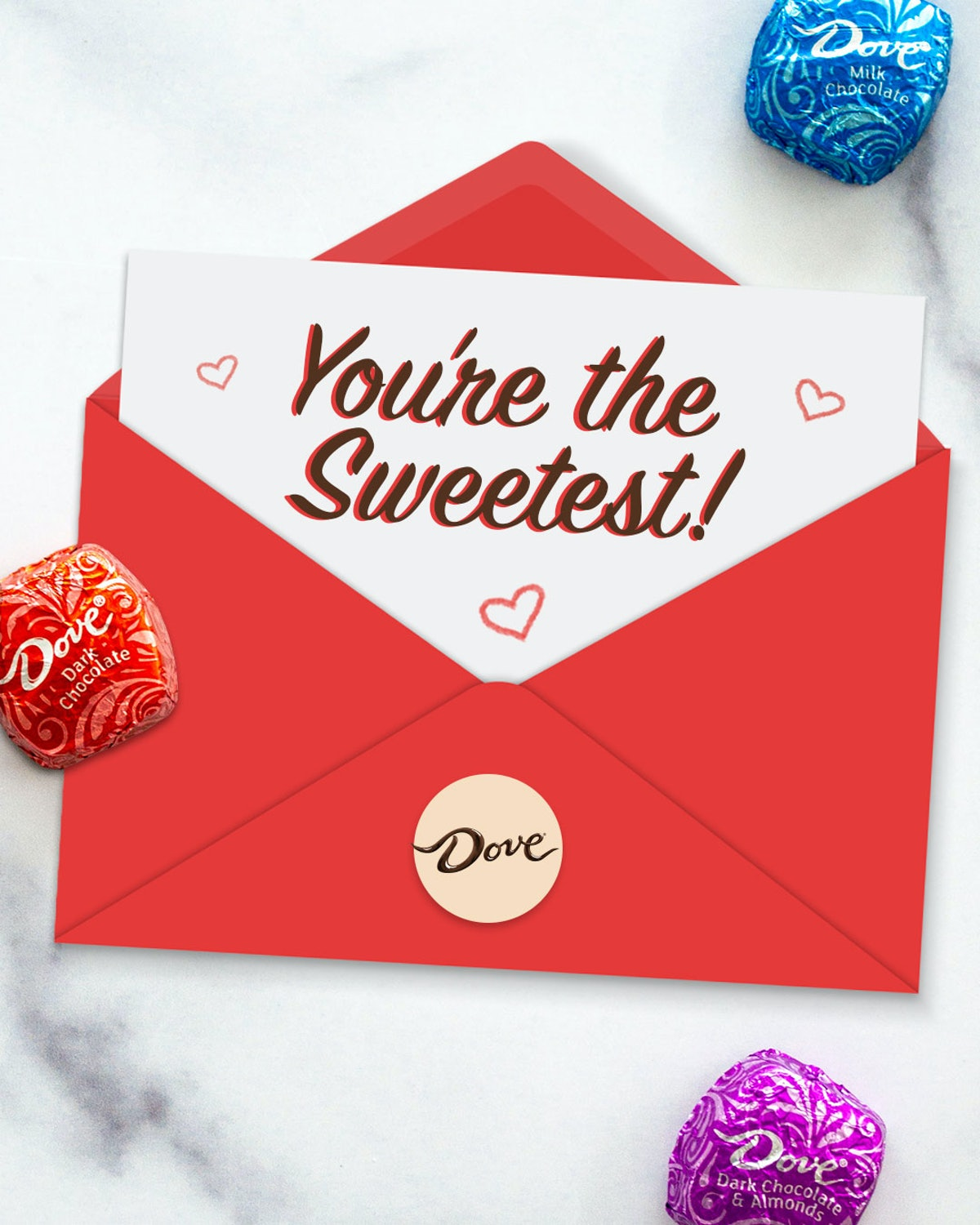 Dove Chocolate's Sweetest Day Giveaway is offering fans free chocolate