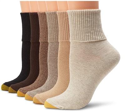 Gold Toe Cuff Socks (6-Pack)