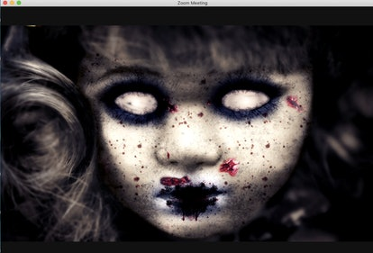 Try these scary Zoom backgrounds for a virtual Halloween party.