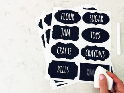 Savvy & Sorted Chalkboard Labels (96-Pack)
