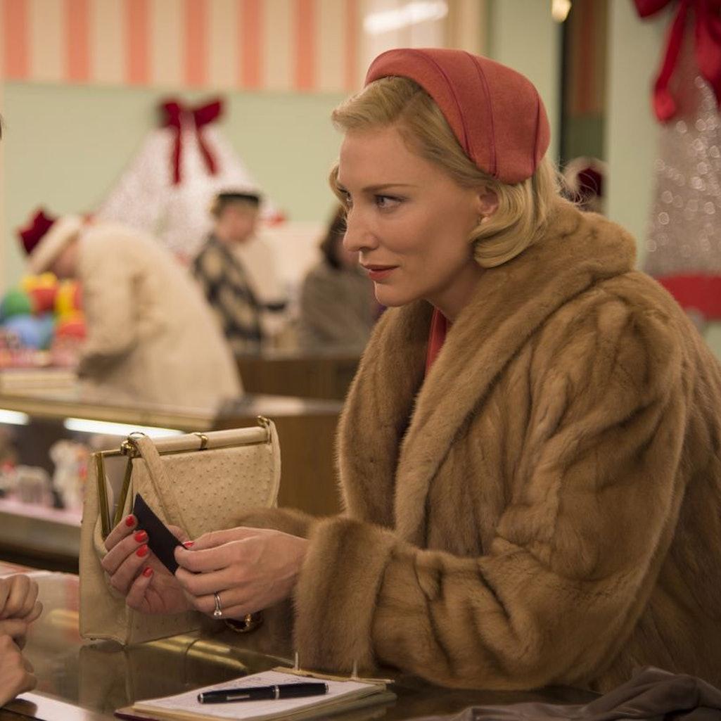 Cate Blanchett and Rooney Mara in the 2015 film 'Carol.'