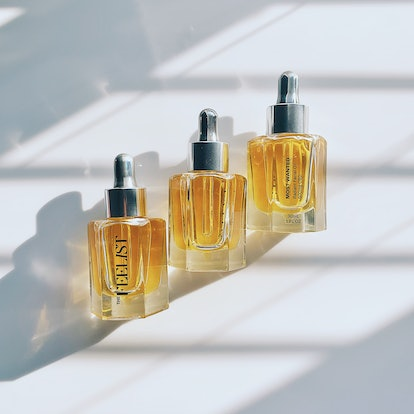 The new oil joins a small curation of body care products.