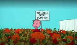 You can stream 'It's the Great Pumpkin Charlie Brown' on Apple TV+ this year.