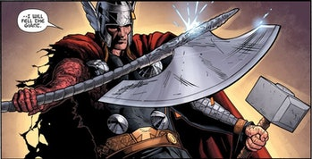 thor battle axe Jarnbjorn comics