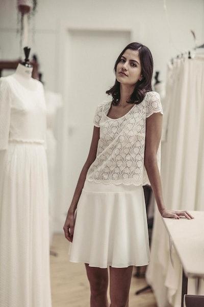 Kant Top-and-Skirt Dress