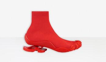 Balenciaga Vibram Toe Sock
