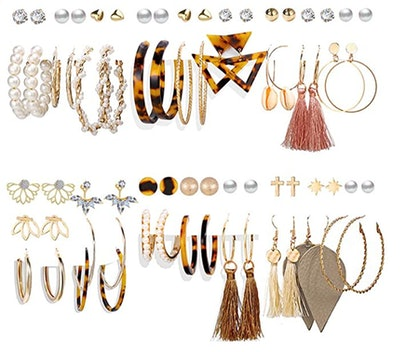17KM Fashion Earrings (36-Pack)