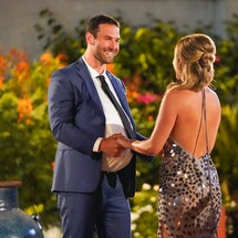 Jason Foster and Clare Crawley on The Bachelorette via the ABC Press Site